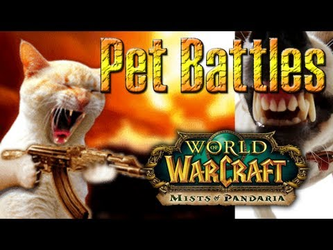 "PET BATTLE SYSTEM gameplay in ""Mists of Pandaria"" (MoP) BETA ""World of Warcraft"" by QELRIC"