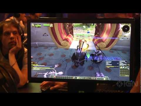 World of Warcraft: Mists of Pandaria Hand to Hand Combat Training – Gamescom 2012