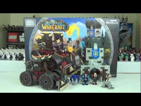 Mega Bloks World Of Warcraft Demolisher Attack Set 91026 Review