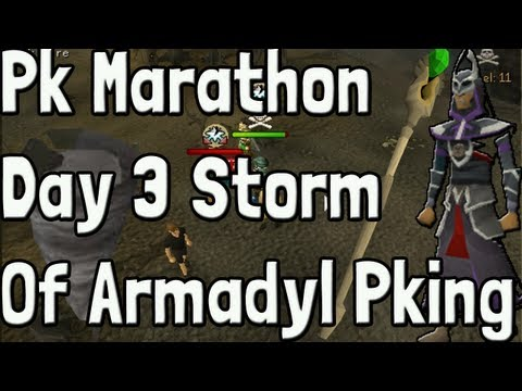 Pk K1n9 5 Runescape Pk Marathon Day 3 Storm Of Armadyl Pking With Commentary