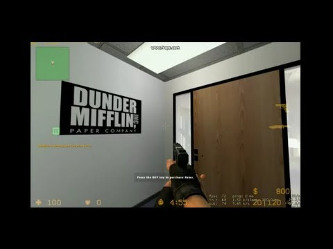 The Office Recreated in Counter-Strike by Blitzkrieg1981