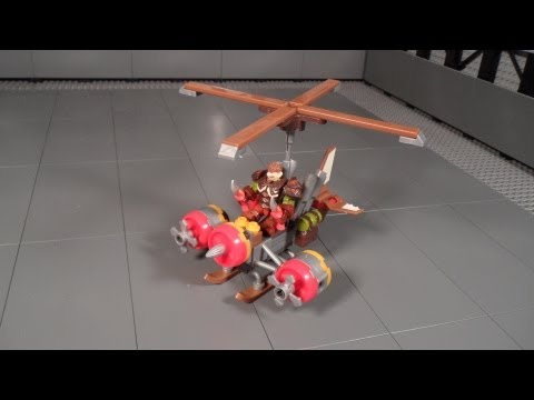 Mega Bloks 91018 Review Flying Machine World of Warcraft