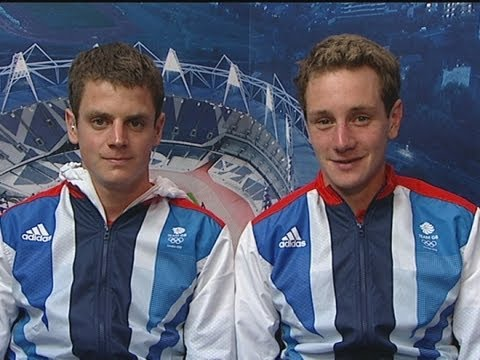 London 2012: The Brownlee brothers talk of their 'fantastic' double win in the triathlon