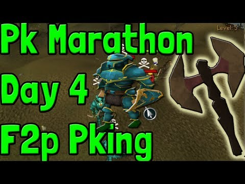 Pk K1n9 5 Runescape Pk Marathon Day 4 Corrupt Dragon Battle Axe F2p Pking With Commentary