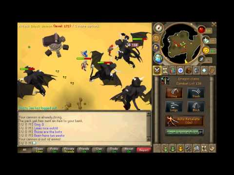 RuneScape – Bot Busting with Jagex Mod Jacmob at Black demons