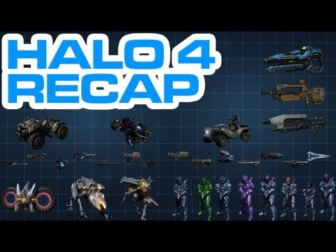 Halo 4 News – Recap/Overview of All Released Information