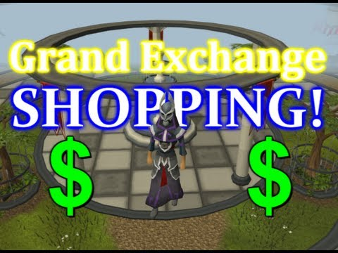 RuneScape Desecrator – Grand Exchange Shopping Spree?!