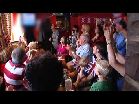 Local pub celebrates the Brownlee brothers' triathlon success at London 2012
