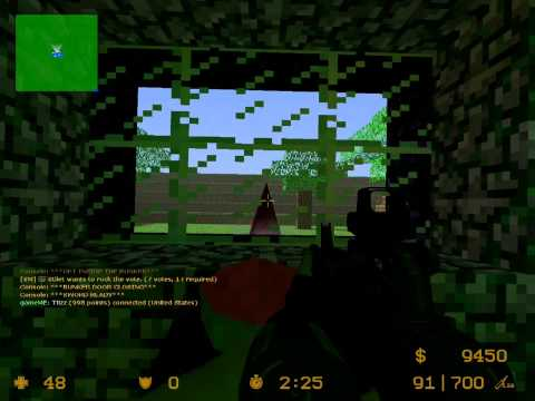 Counter Strike Source Zombie Escape Gameplay Minecraft 2/2