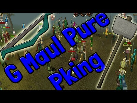 Runescape Pk Marathon Day 5 Pk k1n9 5 Runescape Msb To G Maul Pure Pking With Commentary