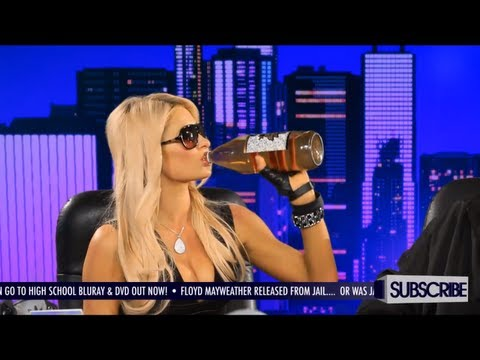 Paris Hilton Drinks Her First 40oz Beer – GGN News: S4 Ep. 5