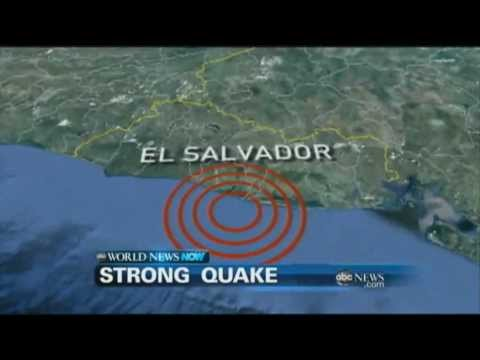 WEBCAST: Strong Earthquake Hits El Savador