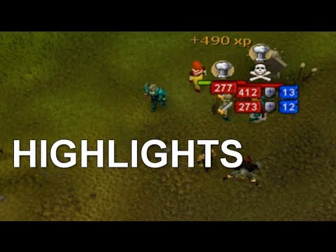 Runescape: Chris Archie's Pk Commentary Highlights