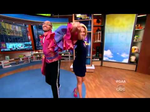 'DWTS' Pro Teaches 'GAA' Fan Some Dance Moves