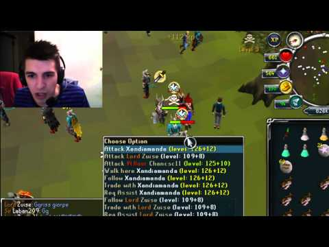 Gross Gore | I've gone rusty | Runescape Pking Camera Commentary 1