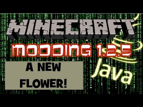 Minecraft Modding – #41 : A New Flower!