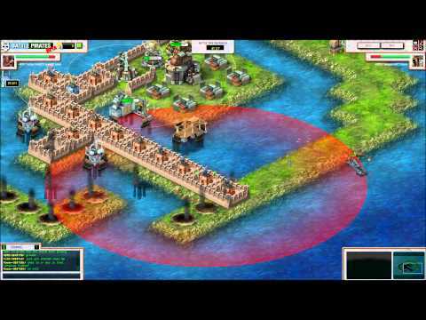 battle pirates -HSD-TetraPrimeBE's base VS DEATH