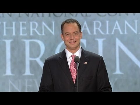 Republican National Convention: Reince Priebus Opens Hurricane-Shortened Convention