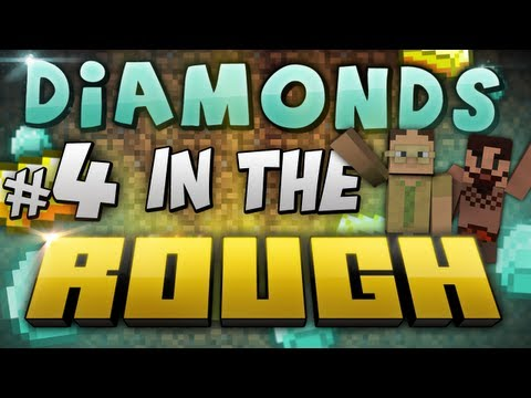 Minecraft: Diamonds in the Rough #4 with Sjin and Nilesy!
