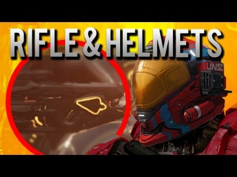 "Halo 4 News – Helmets, Gear, Fuel Rod, Binary Rifle and ""Enlist"" Video!"
