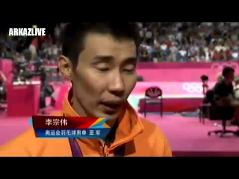 ♛ Badminton News – LEE Chong Wei 's Crying [2012 London Olympic]