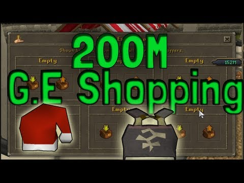 Pk K1n9 5's Runescape 200M Grand Exchange Shopping Spree