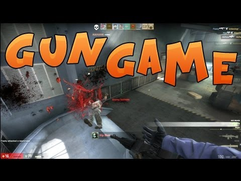 CS:GO – Arms Race (Gun Game) Gameplay