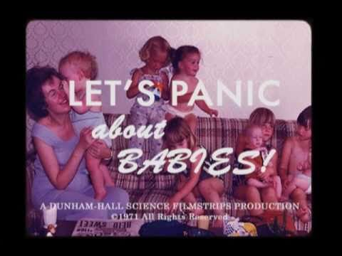 LET'S PANIC ABOUT BABIES! (Book Trailer)