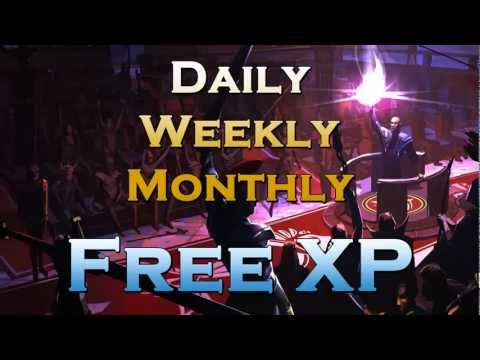 Runescape Daily, Weekly, Monthly Experience Gains – Free Exp For Those Worst Skills!