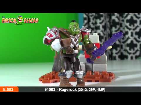 World of Warcraft Ragerock Review, Set 91003, Mega Bloks
