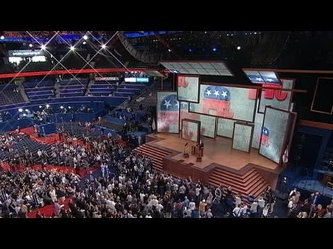 Republican National Convention Back on Track After Tropical Storm Isaac Postpones Day One