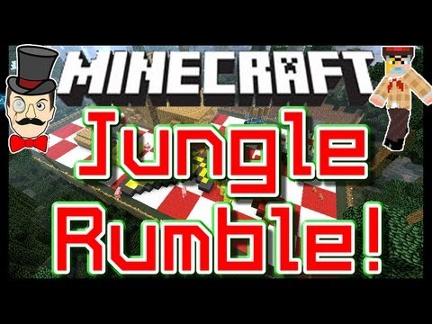 Minecraft Clay Soldiers – JUNGLE PICNIC Battle ! Clay Soldiers Subs Arena Bet Match #90!