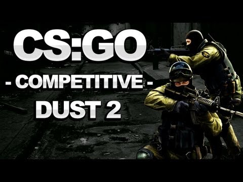 Counterstrike: Global Offensive Walkthrough – Competitive: Dust II – Strategy