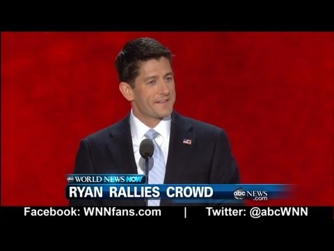 Webcast: Paul Ryan Rallies RNC 2012