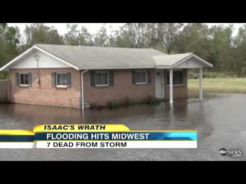Isaac Wreaks Havoc Despite Storm Downgrade
