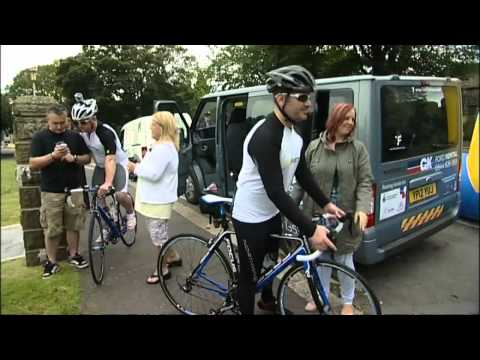 Triple-amputee soldier takes on 3000 mile cycle challenge around Britain's coastline