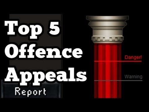 RuneScape Top 5 Offence Appeals