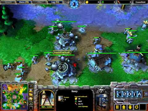 Hawk (HU) vs Pornosonik (NE) – G2 – WarCraft 3 – WC296