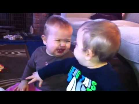 Twins fight funny! – Girl beats Boy! Twinlets' (1 of 4)