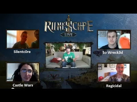 The First Official RuneScape Live Stream