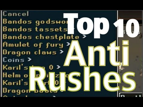 Runescape Top 10 Anti-Rushes Part 2 – Week 36