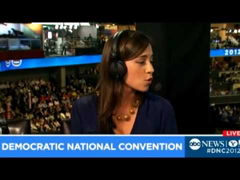 ABC News Democratic National Convention Live Stream, 09.06.12 — Part 1