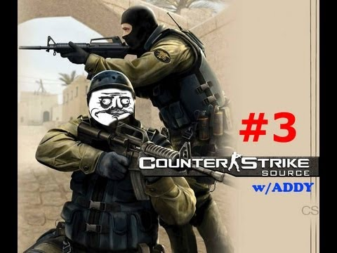 me and addy fail at counterstrike: gungame #3