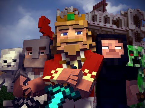 """Fallen Kingdom"" – A Minecraft Parody of Coldplay's Viva la Vida (Music Video)"