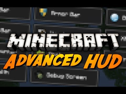 Minecraft: Advanced HUD Mod! (Tweak the Health, Hunger, Armor, XP Bar & More!)