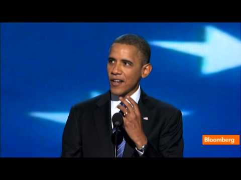 President Barack Obama Speaks at DNC