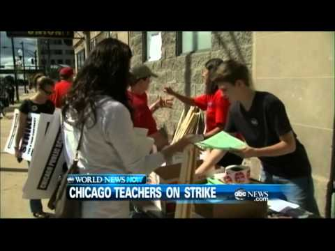 WEBCAST: Chicago Teachers on Strike