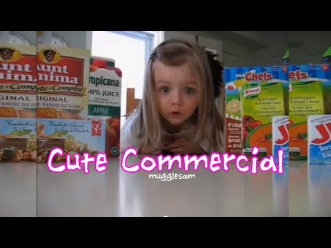 3 Year Old Kid's Cutest Commercial