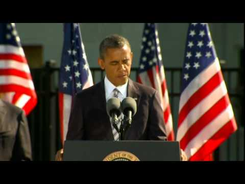 Obama leads tributes as the US remembers 9/11