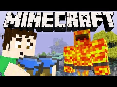 Minecraft – FIRE BOSS PREPARATION